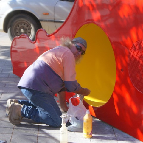 Spray painting Bendigo