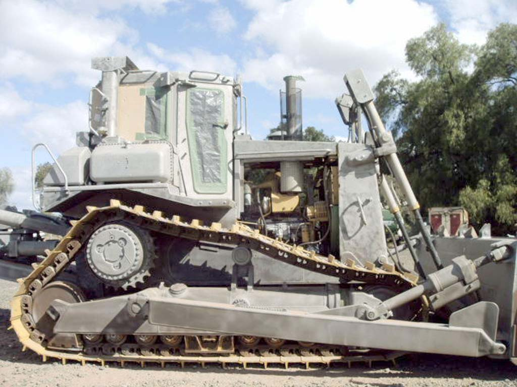 Blast And Spray Painting Of Dozer Central Victorian